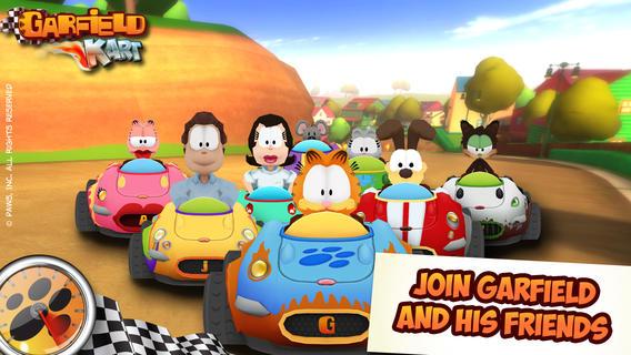 Garfield Kart Mfi Games